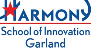 Harmony School of Innovation - Garland Logo